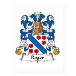 Escudo de la familia de Rogelio Postal