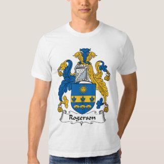 Escudo de la familia de Rogerson Remera