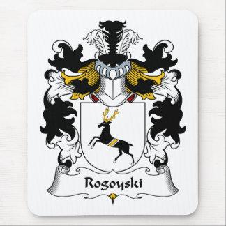 Escudo de la familia de Rogoyski Tapetes De Ratones