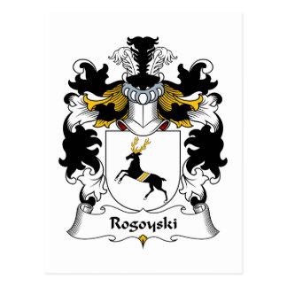 Escudo de la familia de Rogoyski Postales