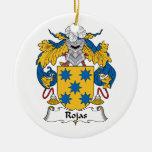 Escudo de la familia de Rojas Ornamentos Para Reyes Magos