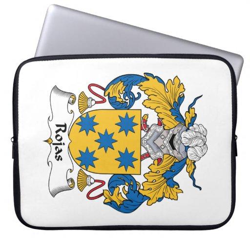 Escudo de la familia de Rojas Mangas Computadora