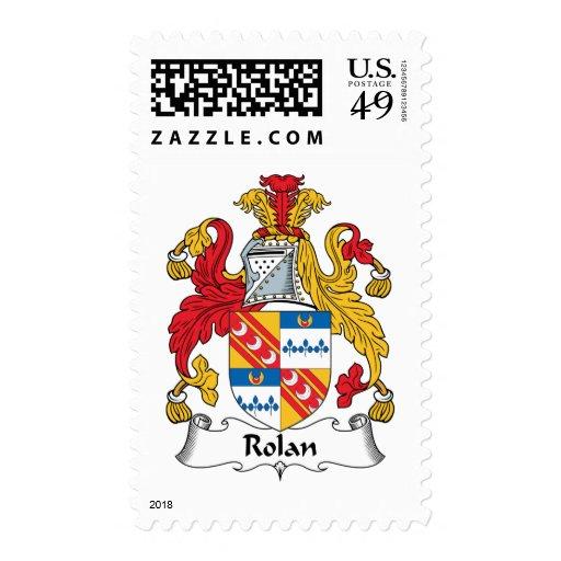 Escudo de la familia de Rolan Sellos