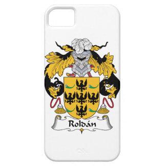 Escudo de la familia de Roldan iPhone 5 Carcasas