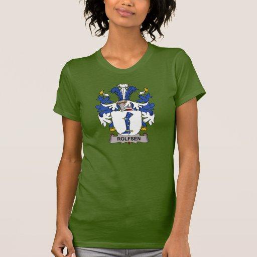 Escudo de la familia de Rolfsen Camisetas