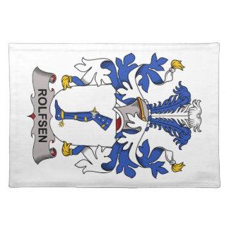 Escudo de la familia de Rolfsen Manteles