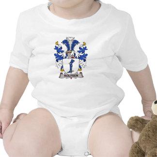 Escudo de la familia de Rolfsen Trajes De Bebé