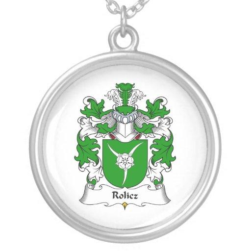 Escudo de la familia de Rolicz Colgante Redondo
