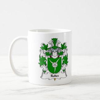 Escudo de la familia de Rolicz Taza