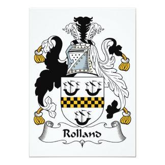 Escudo de la familia de Rolland