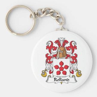 Escudo de la familia de Rolland Llaveros Personalizados