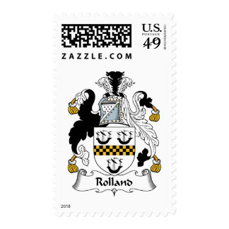 Escudo de la familia de Rolland Sello