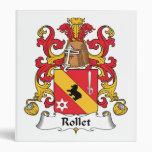Escudo de la familia de Rollet