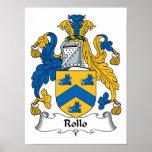 Escudo de la familia de Rollo Poster