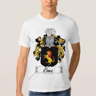 Escudo de la familia de Roma Polera