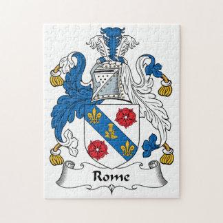 Escudo de la familia de Roma Puzzle