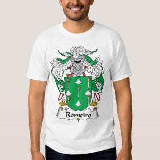 Escudo de la familia de Romeiro Playera