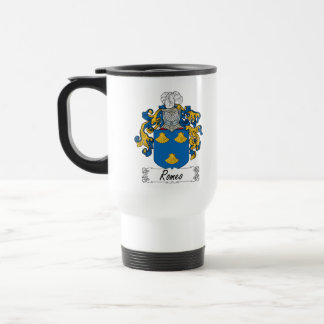 Escudo de la familia de Romeo Taza De Café