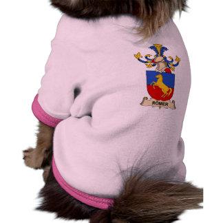 Escudo de la familia de Römer Ropa De Mascota