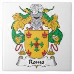 Escudo de la familia de Romo Azulejos
