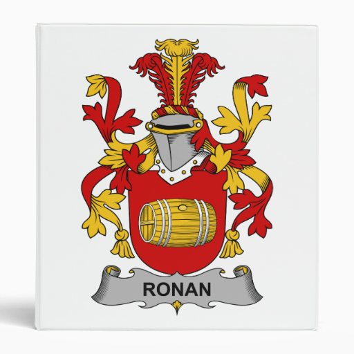 Escudo de la familia de Ronan