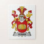 Escudo de la familia de Ronan Rompecabezas Con Fotos