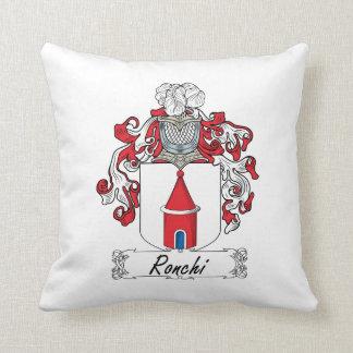 Escudo de la familia de Ronchi Almohadas