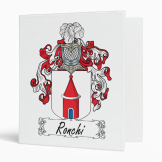 """Escudo de la familia de Ronchi Carpeta 1"""""""