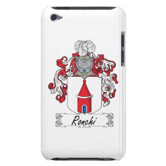 Escudo de la familia de Ronchi iPod Case-Mate Carcasas