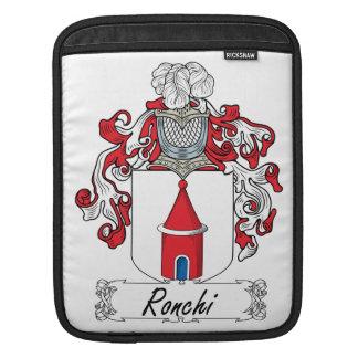 Escudo de la familia de Ronchi Mangas De iPad