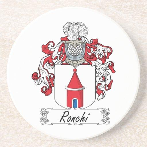 Escudo de la familia de Ronchi Posavasos Manualidades