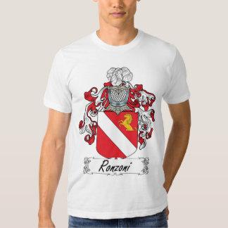Escudo de la familia de Ronzoni Remera