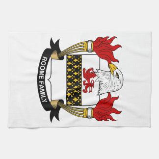 Escudo de la familia de Roome Toallas