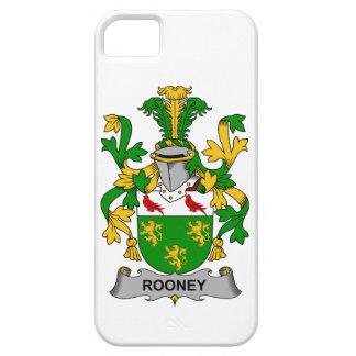 Escudo de la familia de Rooney iPhone 5 Case-Mate Cárcasa