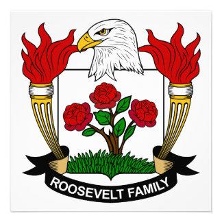Escudo de la familia de Roosevelt Anuncio