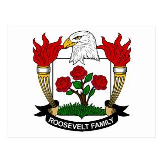 Escudo de la familia de Roosevelt Postal