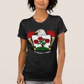 Escudo de la familia de Roosevelt T Shirts
