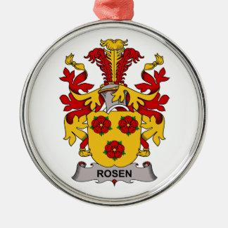 Escudo de la familia de Rosen Ornaments Para Arbol De Navidad