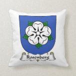 Escudo de la familia de Rosenberg Cojines