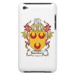 Escudo de la familia de Rosenberg Case-Mate iPod Touch Funda
