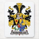 Escudo de la familia de Rosenblad Alfombrilla De Raton