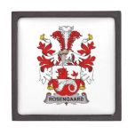 Escudo de la familia de Rosengaard Cajas De Joyas De Calidad