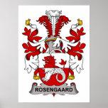 Escudo de la familia de Rosengaard Impresiones
