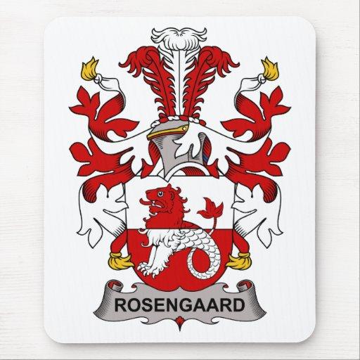 Escudo de la familia de Rosengaard Tapetes De Raton