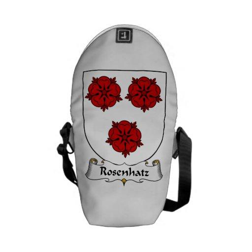 Escudo de la familia de Rosenhatz Bolsas De Mensajería
