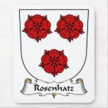 Escudo de la familia de Rosenhatz Alfombrilla De Ratón