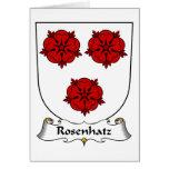 Escudo de la familia de Rosenhatz Tarjetas