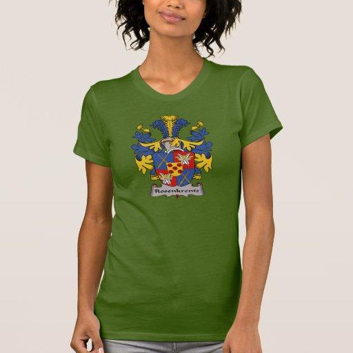 Escudo de la familia de Rosenkrentz Camisetas