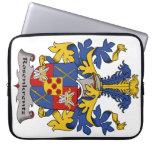 Escudo de la familia de Rosenkrentz Funda Portátil