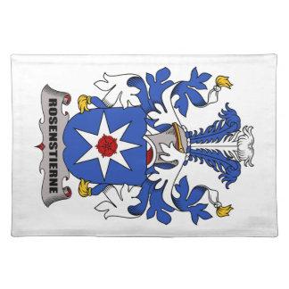 Escudo de la familia de Rosenstierne Mantel Individual